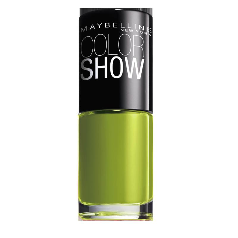 لاک ناخن میبلین مدل Color Show شماره 754 - سبز