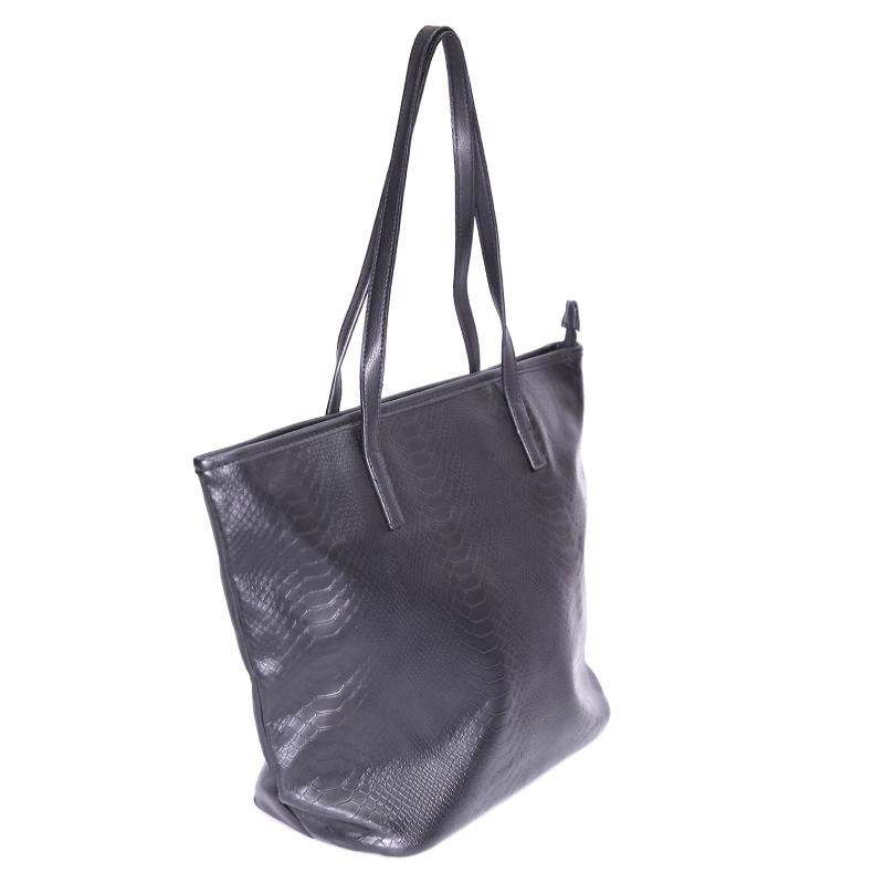 کیف دوشی گابلین با طرح پوست مار - مشکی