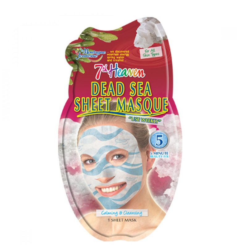 ماسک نقابی صورت مونته ژنه مدل 7th Heaven حاوی لجن دریایی 1 عدد