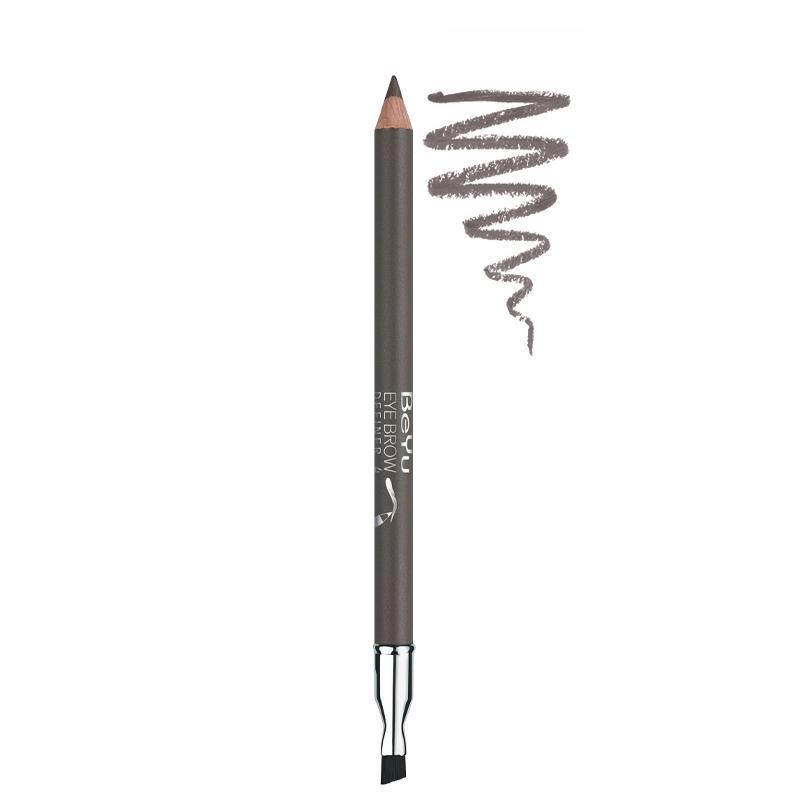 مداد ابرو برس دار بی یو شماره 4 - قهوه ای