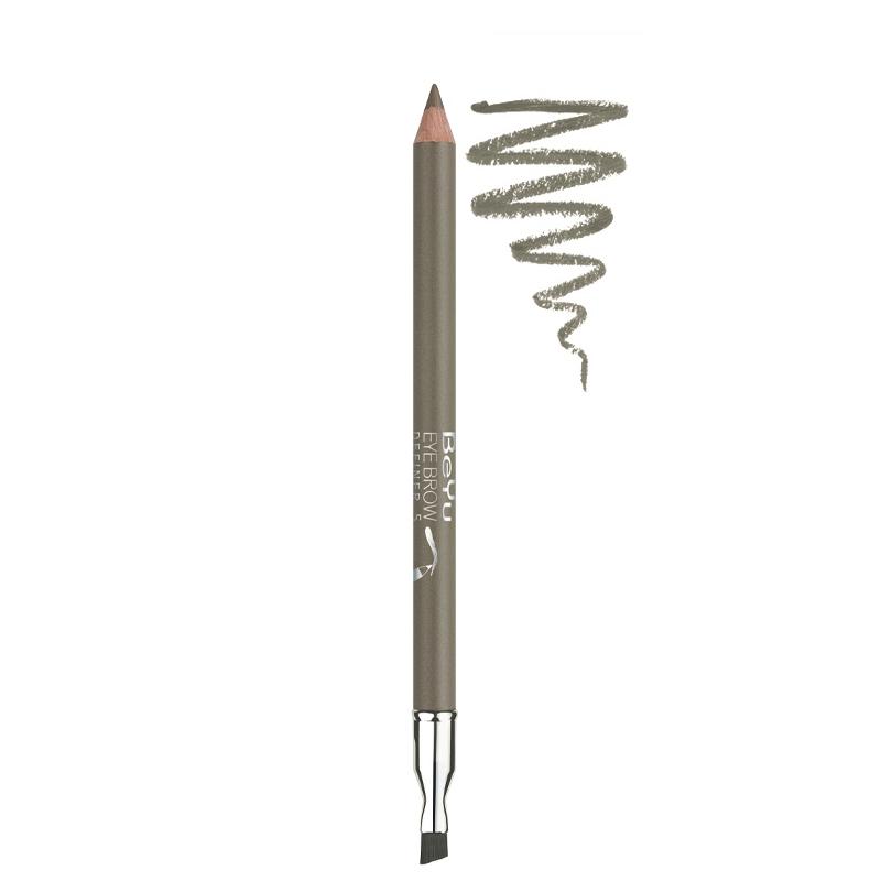 مداد ابرو برس دار بی یو شماره 5 - قهوه ای روشن