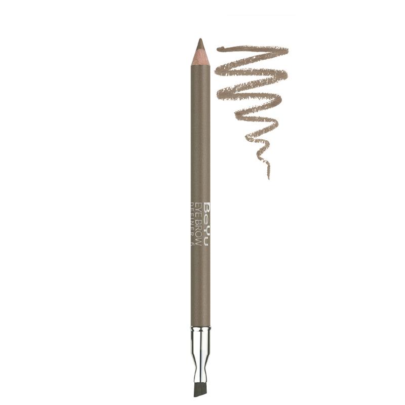 مداد ابرو برس دار بی یو شماره 6 - بژ طلایی