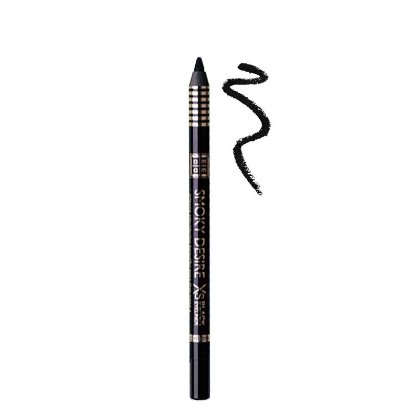 مداد چشم ضد آب دی ام جی ام مدل Smoky Desire شماره 01 - مشکی