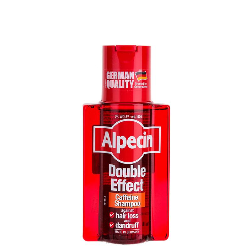 شامپو کافئین ضد شوره و تقويت کننده آلپسین مدل Double Effect