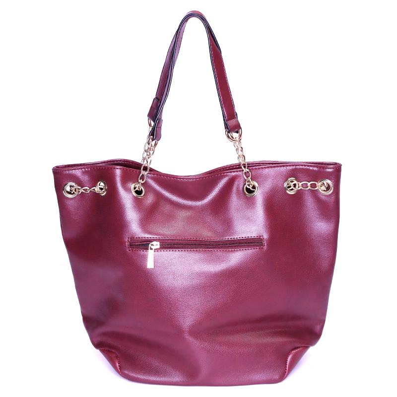 کیف دستی زنجیردار گابلین - زرشکی