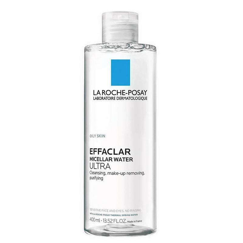 محلول پاک کننده آرایش چشم و صورت لاروش پوزای مدل Effaclar حجم 400 میل