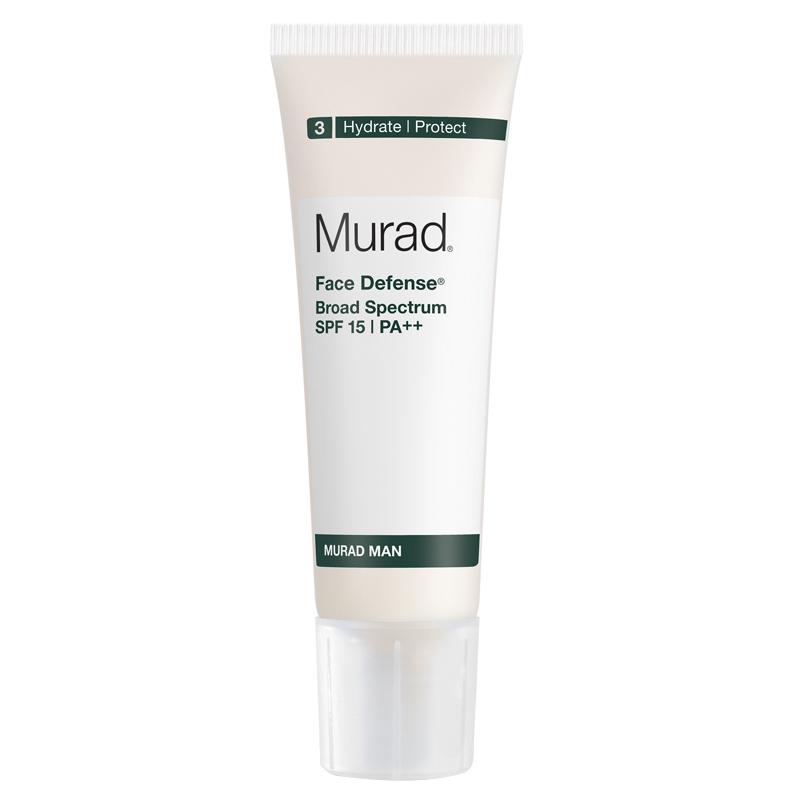 کرم محافظت کننده پوست آقایان مورد مدل Face Defence با SPF 15 و ++PA حجم 50 میل