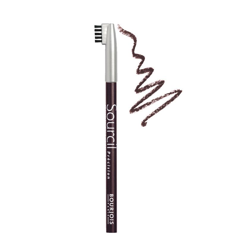 مداد ابرو برس دار بورژوآ مدل Sourcil شماره 03 - شاه بلوطی