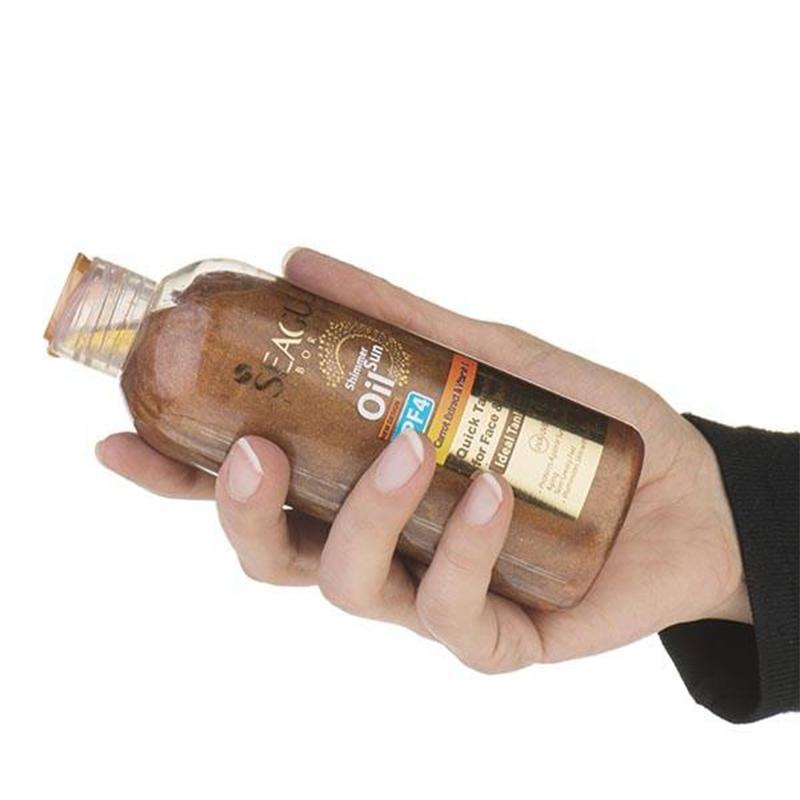 روغن برنزه کننده ویتامینه سی گل با SPF 4 حجم 250 میل