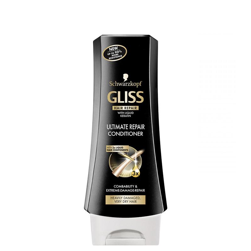 نرم کننده موهای آسیب دیده و خشک گلیس مدل Ultimate Repair