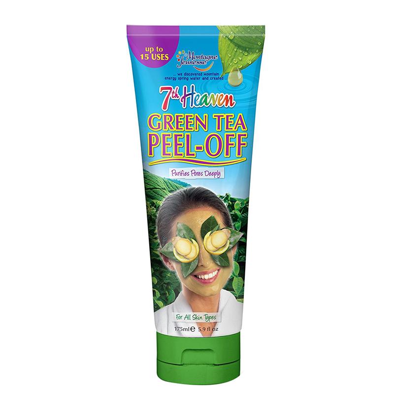ماسک لایه بردار صورت مونته ژنه مدل 7th Heaven حاوی چای سبز حجم 175 میل