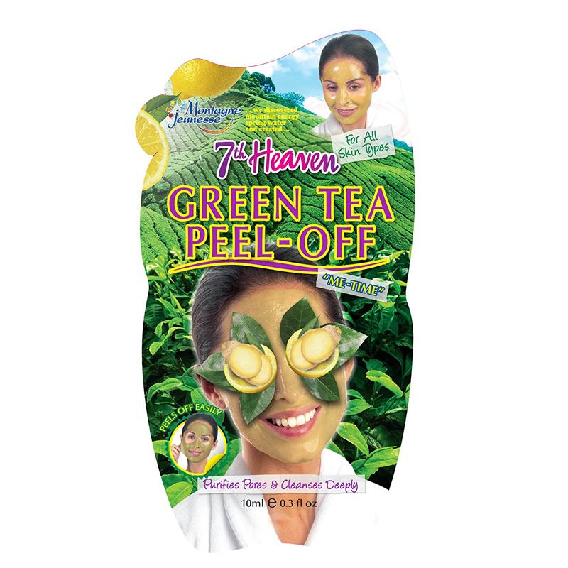 ماسک صورت مونته ژنه مدل 7th Heaven حاوی چای سبز حجم 10 میل