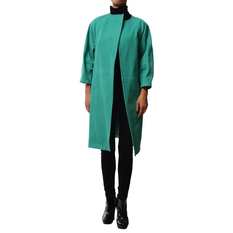 پالتو فوتر سبز- آبی
