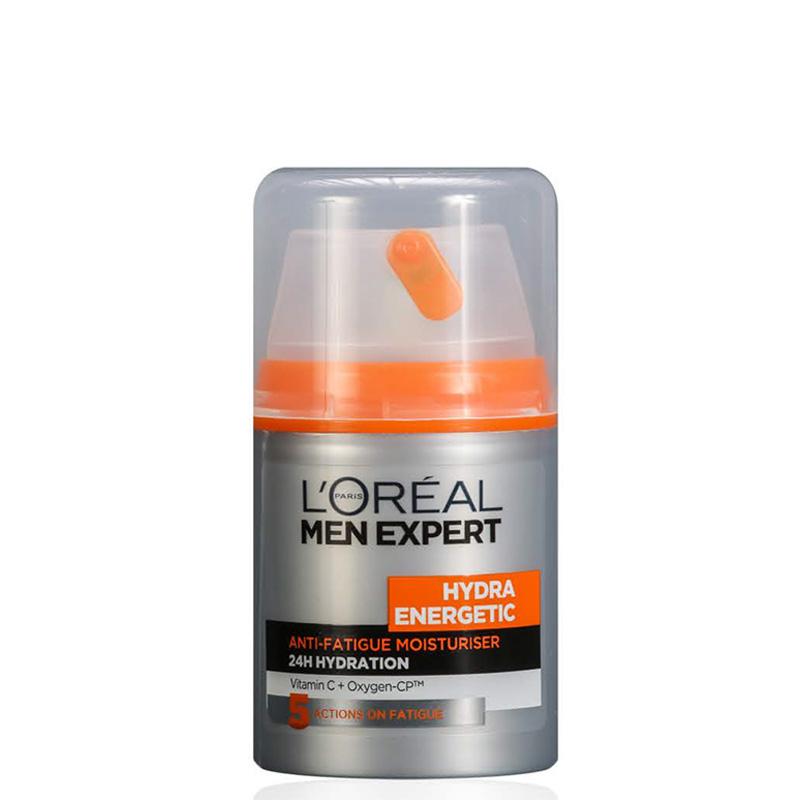 لوسیون ضد خستگی و آبرسان 24 ساعته لورال مردانه مدل Hydra Energetic میل 50