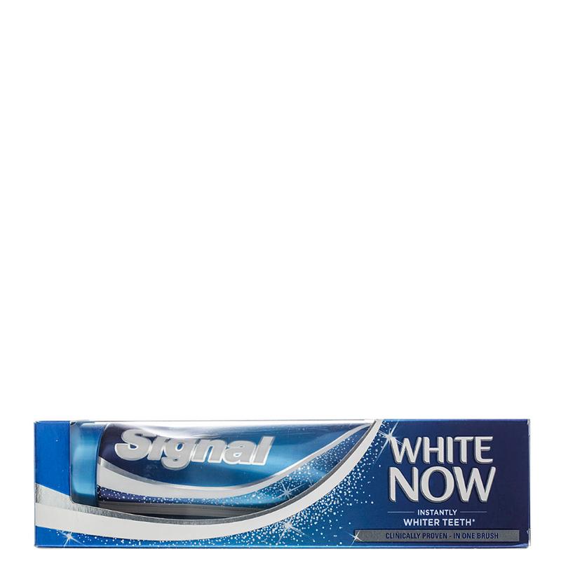خمیر دندان سفید کننده فوری سیگنال مدل White Now حجم 75 میل