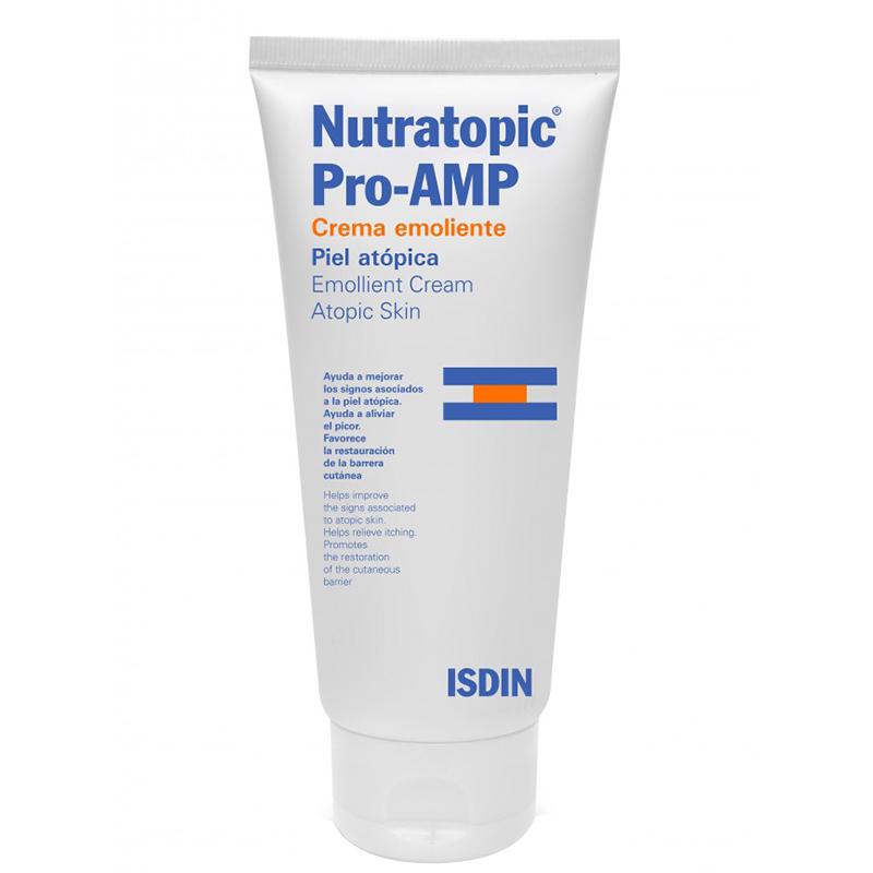 کرم نرم کننده و بازسازی کننده پوست خیلی خشک ایزدین مدل Nutratopic Pro-Amp حجم 200 میل