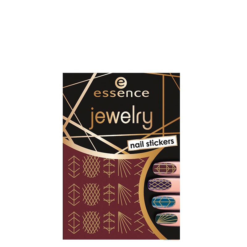 برچسب ناخن اسنس مدل Jewelry شماره 09