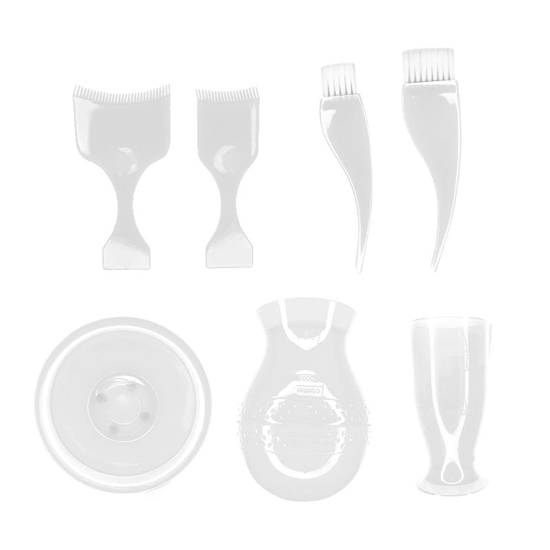 پک 5 تکه ابزار رنگ کردن مو  یوکی- سفید