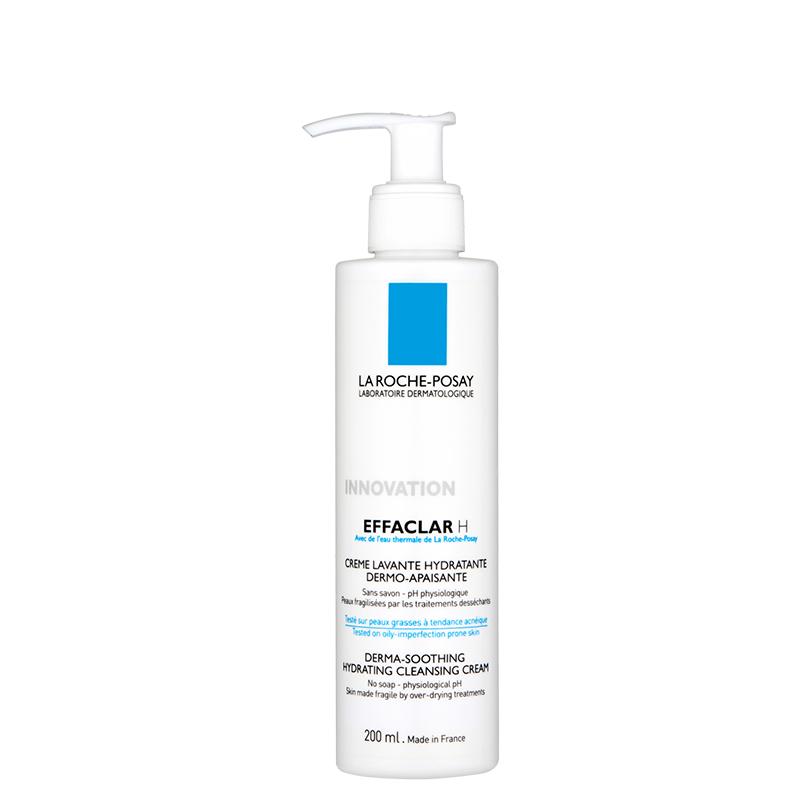 کرم شوینده صورت مناسب پوست های چرب و حساس لاروش پوزای مدل Effaclar H حجم 200 میل