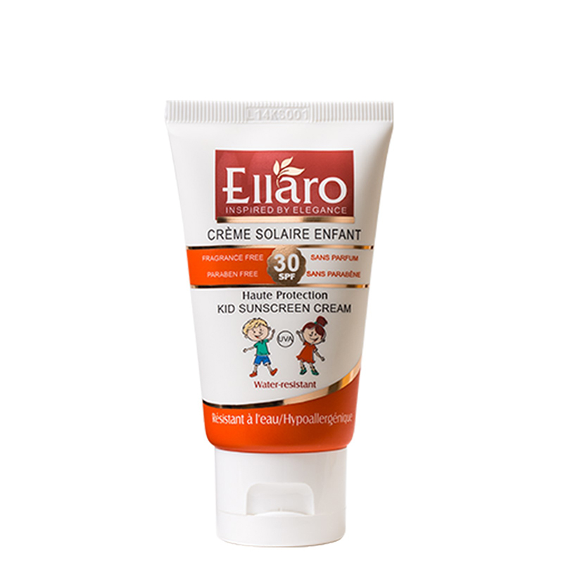 ضد آفتاب کودک اِلارو با SPF 30 حجم 40 میل