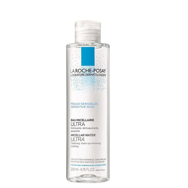 محلول پاک کننده آرایش پوست های بسیار حساس لاروش پوزای حجم 200 میل