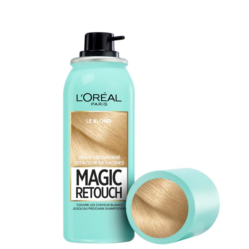 اسپری کانسیلر ریشه مو لورال مدل Magic Retouch حجم 75 میل شماره 5 - بلوند