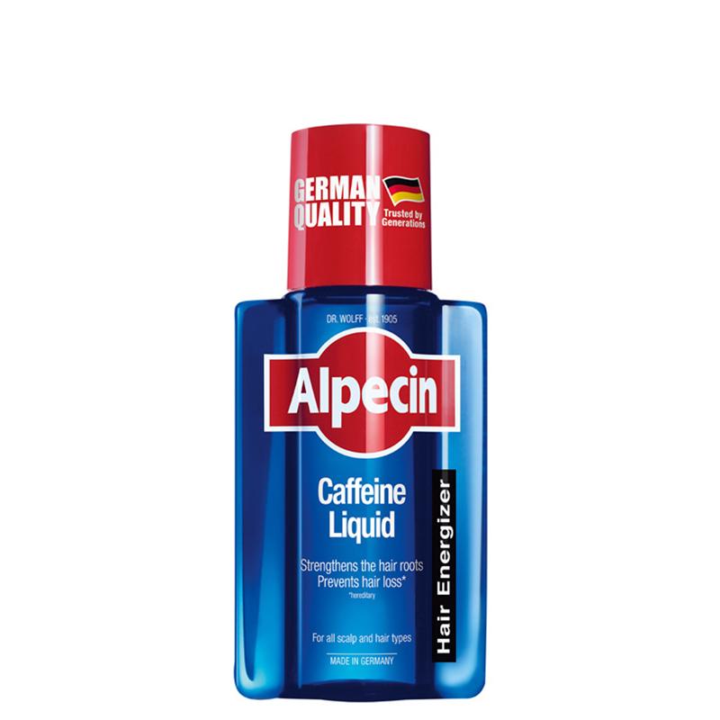 محلول تقویت کننده و ضد ریزش مو حاوی کافئین آلپسین مدل Caffeine