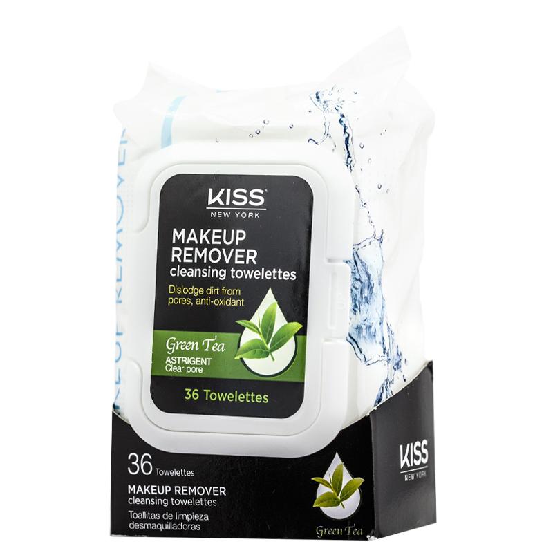 دستمال مرطوب پاک کننده آرایش کیس حاوی عصاره چای سبز - 36 عدد