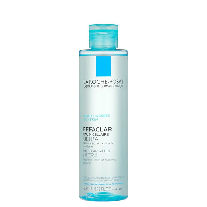 محلول پاک کننده آرایش پوست های چرب و حساس لاروش پوزای مدل Effaclar حجم 200 میل