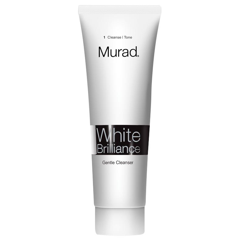 کرم شستشو ملایم انواع پوست مورد مدل White Brilliance حجم 135 میل
