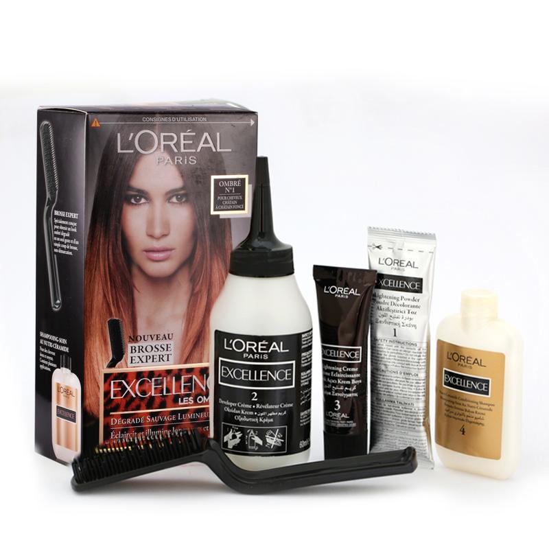 کیت رنگ موی هایلایت لورال پاریس مدل Excellence شماره 01