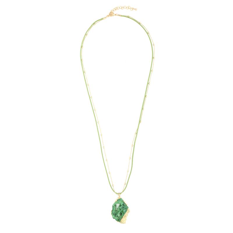 گردنبند ادوریتا مدل Cristal Verde