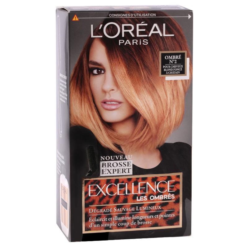 کیت رنگ موی هایلایت لورال پاریس مدل Excellence شماره 02