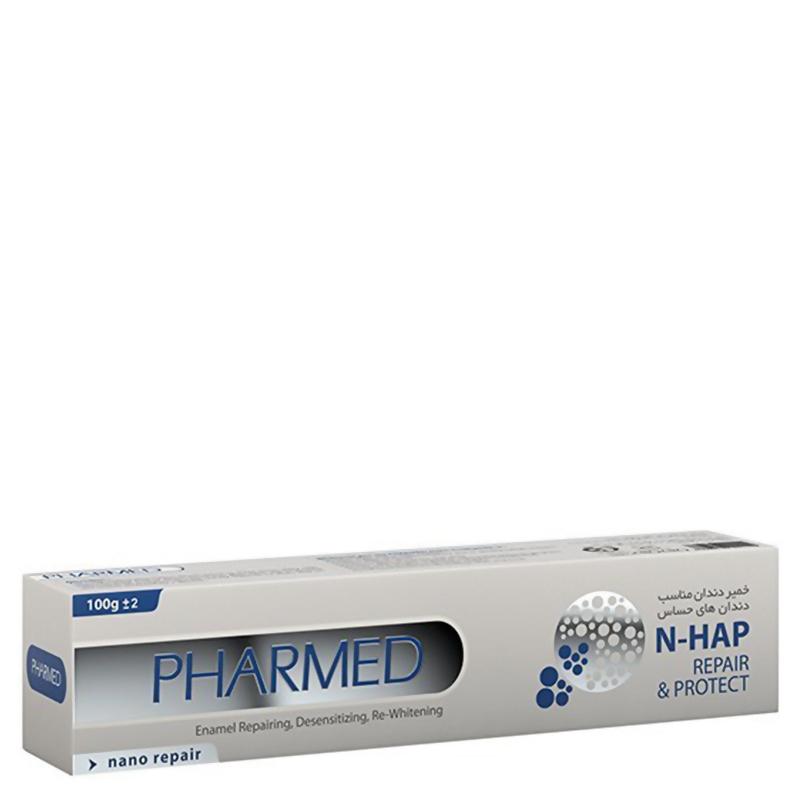 خمیر دندان ضد حساسیت و سفید کننده فارمد وزن 100 گرم