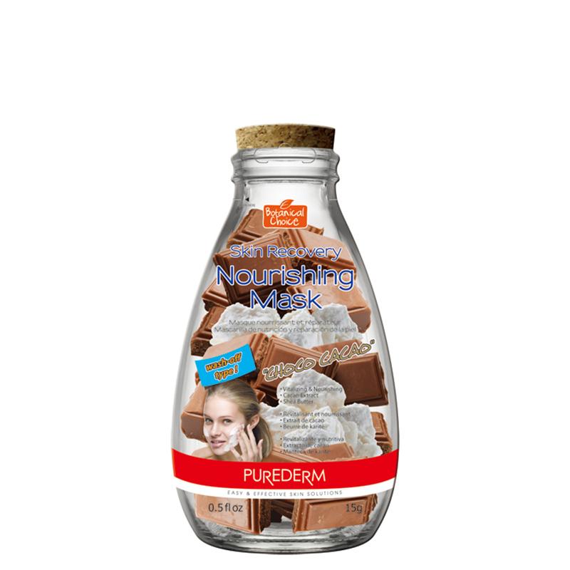 ماسک کرمی تغذیه کننده پوست حاوی عصاره کاکائو پیوردرم