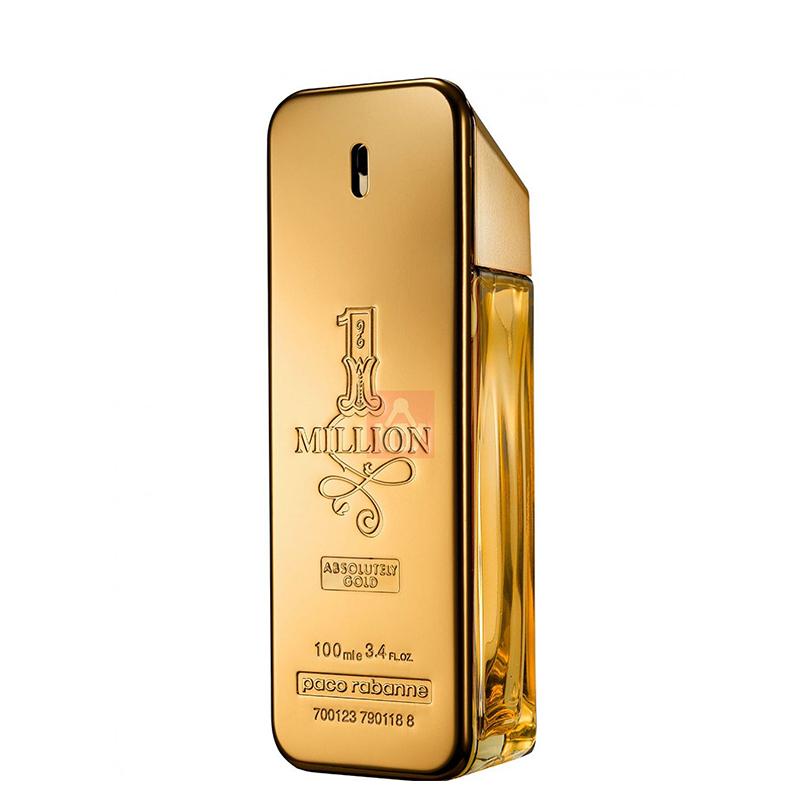 پرفیوم مردانه پاکو رابان مدل 1Million Absolutely Gold حجم 100 میل