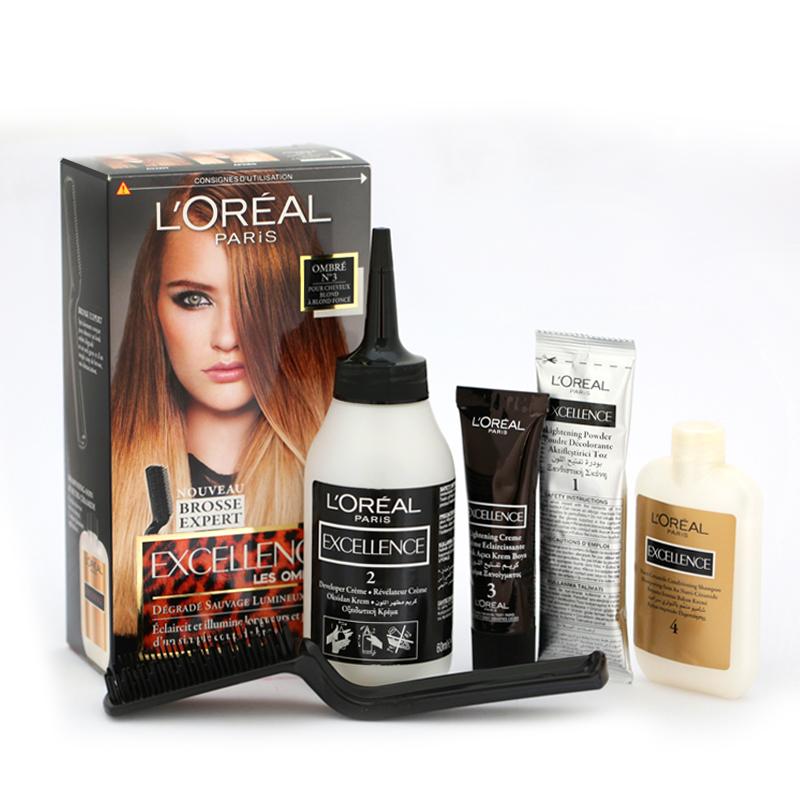 کیت رنگ موی هایلایت لورال پاریس مدل Excellence  شماره 03