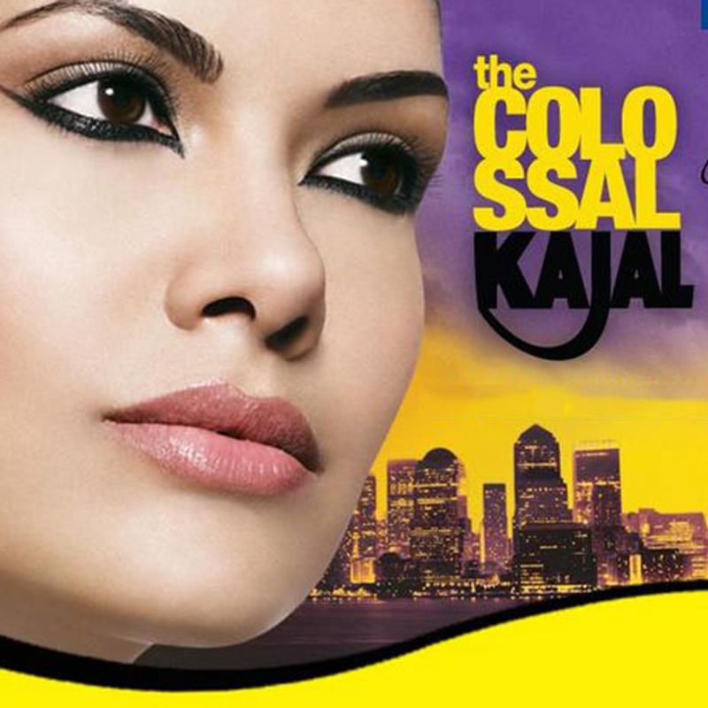 مداد چشم پیچی ضد آب میبلین مدل Colossal Kajal - مشکی