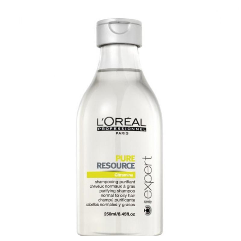 شامپو مخصوص موهای چرب لورال پروفشنال مدل Pure Resource حجم 250 میل