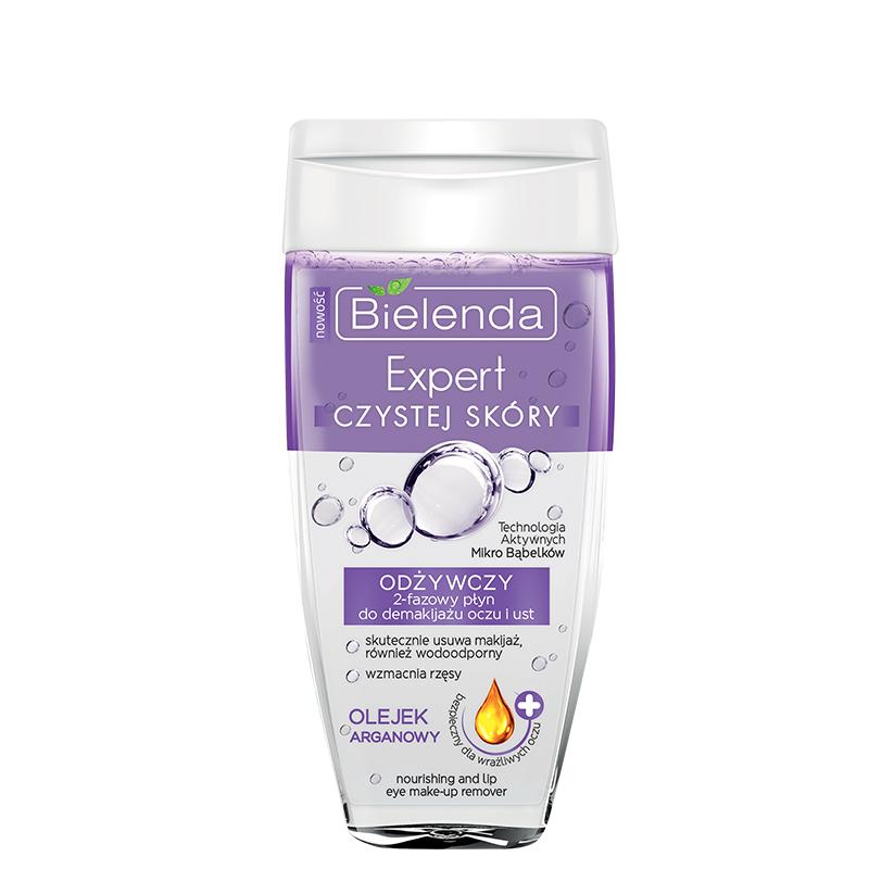 محلول دو فاز پاک کننده آرایش چشم و لب بی یلندا مدل Clean Skin Expert حجم 150 میل