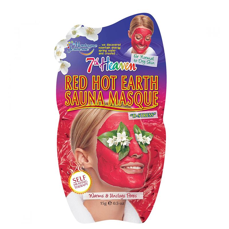 ماسک صورت مونته ژنه مدل 7th Heaven حاوی عصاره های گیاهی حجم 15 گرم