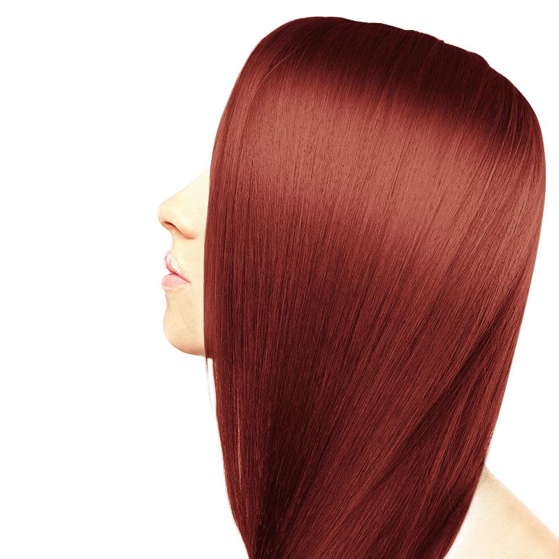 رنگ مو بیول حجم 100 میل شماره 5.65 - شرابی قرمز ماهاگونی روشن