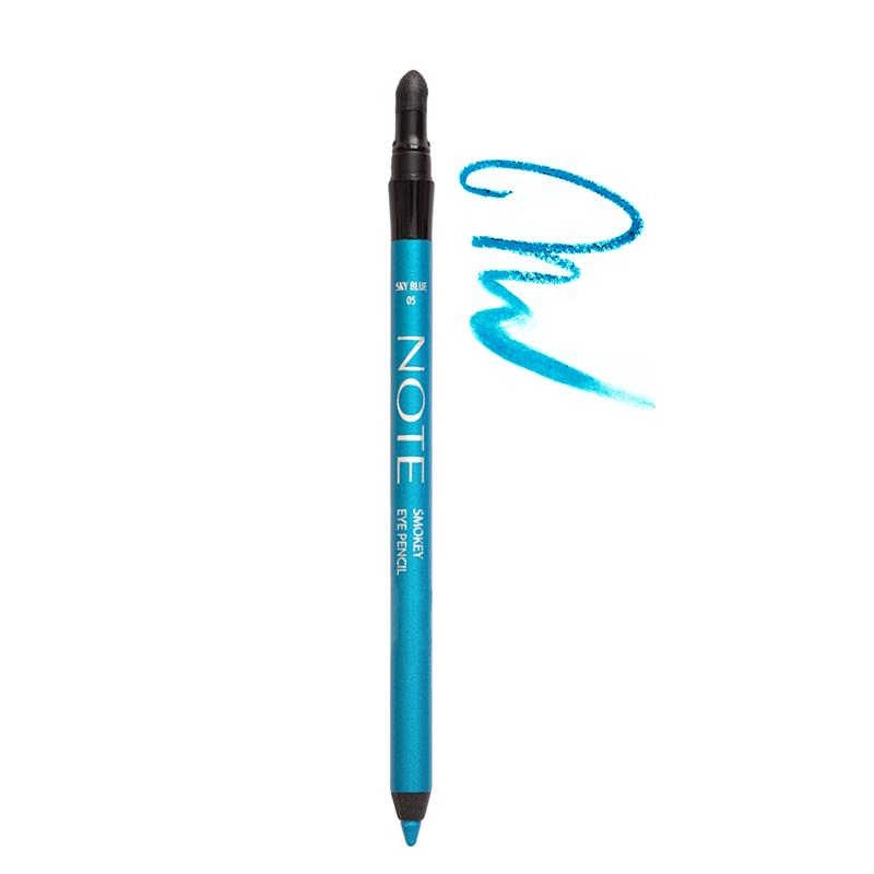 مداد چشم نُت مدل Smokey شماره 05 - آبی آسمانی