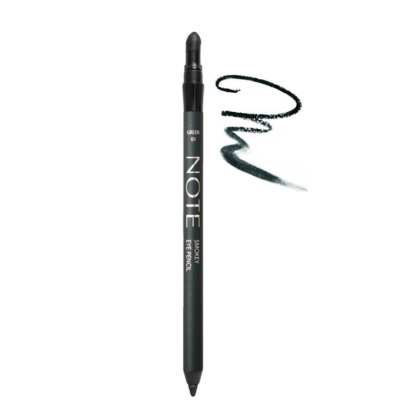 مداد چشم نُت مدل Smokey شماره 03 - سبز