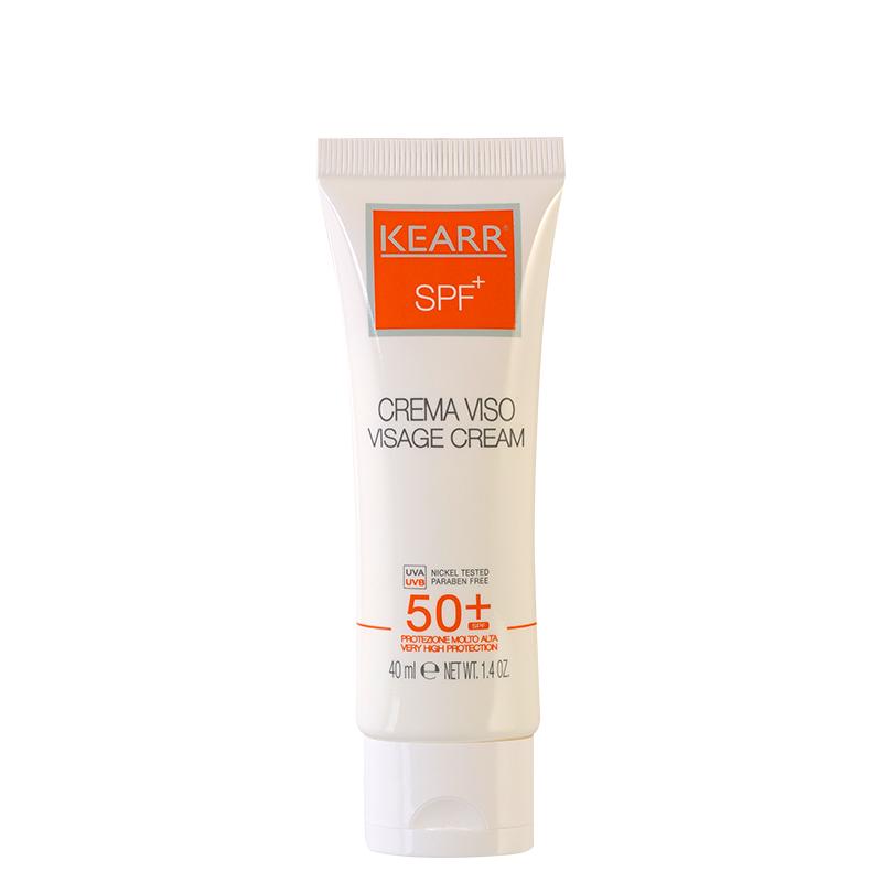 کرم ضد آفتاب و ضد چروک کِ آر مناسب پوست های چرب با +SPF50 حجم 40 میل