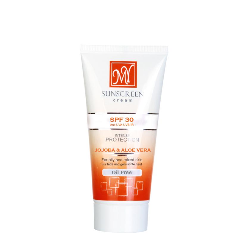 کرم ضد آفتاب مای مناسب برای پوست چرب با SPF 30 حجم 50 میل