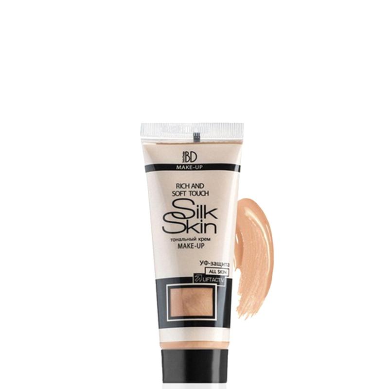 کرم پودر جوان کننده پوست بلور مدل Silk Skin وزن 36 گرم شماره 203