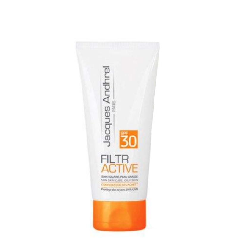 کرم ضد آفتاب ژاک آندرل مناسب پوست های چرب با SPF30 حجم 50 میل - بدون رنگ