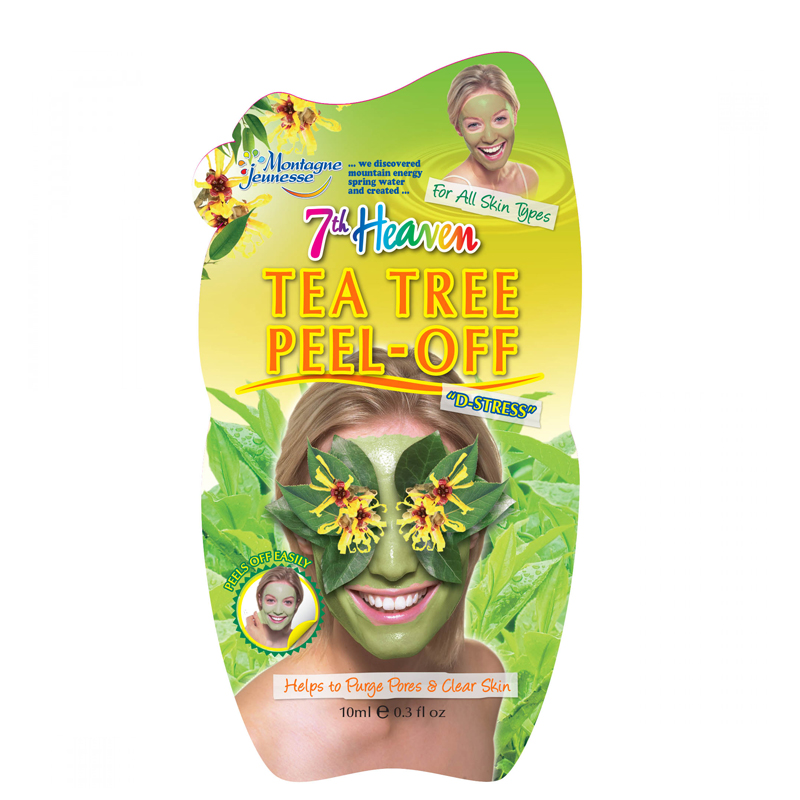 ماسک صورت مونته ژنه مدل 7th Heaven حاوی عصاره درخت چای حجم 10 میل