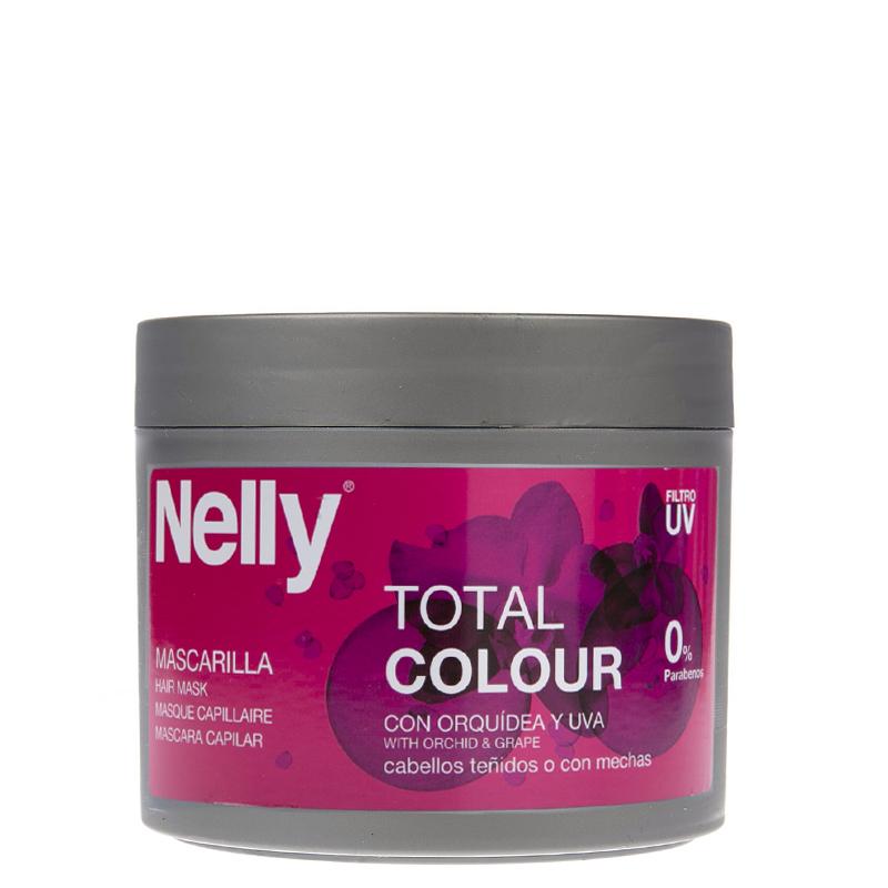 ماسک تثبیت رنگ مو نِلی مدل Total Colour حجم 300 میل